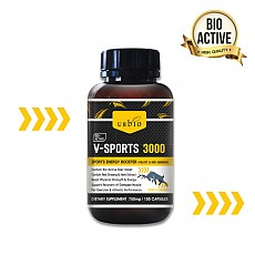 [유비바이오] 브이스포츠 3000(에너지부스터) 100cap 1개