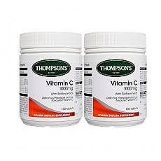 [톰슨] 비타민C 츄어블 1000mg 150정 2개
