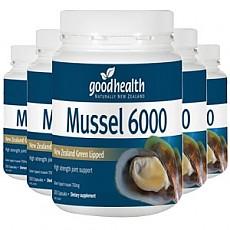 [굿헬스] 그린머슬6000mg 300캡슐 (무릎관절) 6개