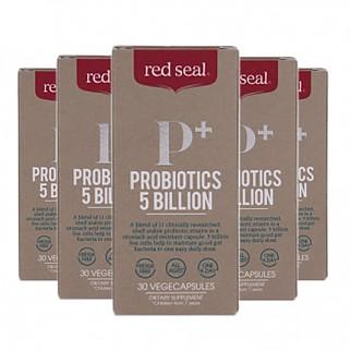 [레드실] 프로바이오틱스(유산균) 5 BILLION 30베지캡슐 6개
