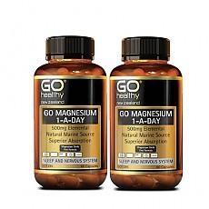 [고헬씨] 마그네슘 (ONE-A-DAY) 500mg 60캡슐 2개