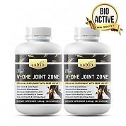 [유비바이오] 브이원 조인트 존(녹용,그린머슬,글루코사민,상어연골) 360cap 무릎관절영양제 2개