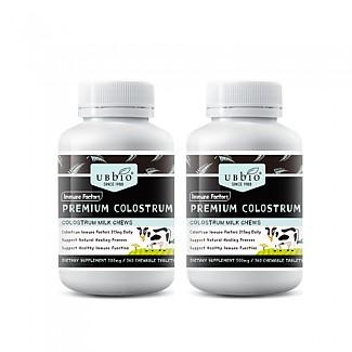 [유비바이오] 초유 플러스 (딸기맛) / IgG 20~25% (100% 뉴질랜드) 500mg 360정 2개