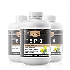 [유비바이오] 달맞이꽃종자유 EPO 1000mg 300cap 3개