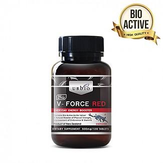 [유비바이오]V-Force 브이포스 레드(녹용,녹혈) 500mg 120tab 1개