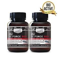 [유비바이오]V-Force 브이포스 레드(녹용,녹혈) 500mg 120tab 2개