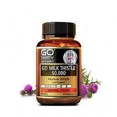 [고헬씨] 밀크시슬(숙취해소,간건강,간보호) 50000mg 60베지캡슐 1개