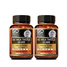 [고헬씨] 밀크시슬(숙취해소,간건강,간보호) 50000mg 60베지캡슐 2개