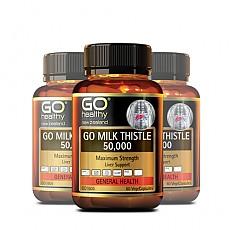 [고헬씨] 밀크시슬(숙취해소,간건강,간보호) 50000mg 60베지캡슐 3개