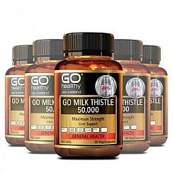 [고헬씨] 밀크시슬(숙취해소,간건강,간보호) 50000mg 60베지캡슐 6개