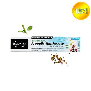 [콤비타] 프로폴리스치약 Natural Toothpaste (티트리오일&자일리톨 함유) 18개