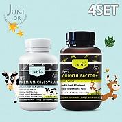 [유비바이오] 그로스팩터 (키즈녹용IGF-1) + 초유 4SET