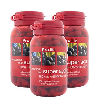 [프로라이프] 슈퍼 아사이 500mg 150캡슐 3개(안토시아닌)