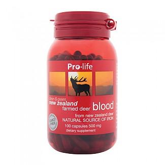 [프로라이프] 녹혈 500mg 100캡슐 1개