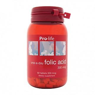 [프로라이프]엽산 Folic acid 60tab 1개