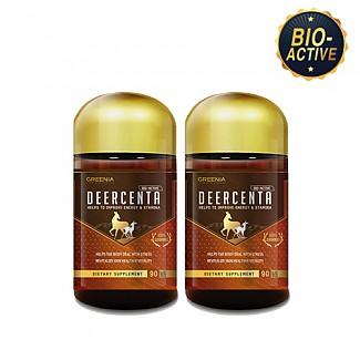 [그리니아] 디어센타/ 바이오엑티브 사슴태반 90캡슐 2개