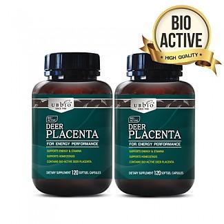 [유비바이오] 플라센타 (사슴/태반캡슐) 120소프트캡슐  2개