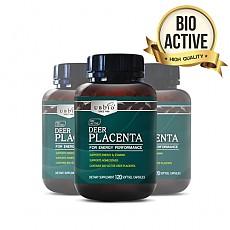 [유비바이오] 플라센타 (사슴/태반캡슐) 120소프트캡슐  3개
