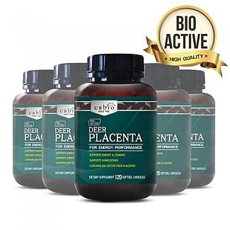 [유비바이오] 플라센타 (사슴/태반캡슐) 120소프트캡슐  6개
