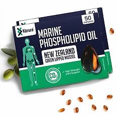 [코루레] 뉴질랜드 초록입 홍합 오일 50정 2개(관절강화)