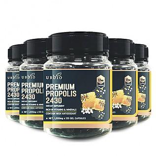 [유비바이오] 프리미엄 프로폴리스 2430 120 soft cap 6개