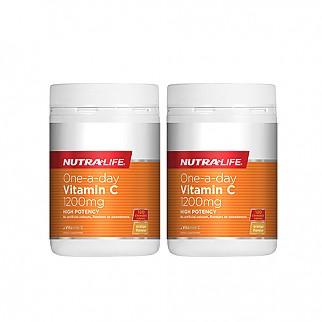 [뉴트라라이프] 원어데이 비타민C 1200mg 120정 면역력증진(고함량) 2개