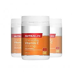 [뉴트라라이프] 원어데이 비타민C 1200mg 120정 면역력증진(고함량) 3개