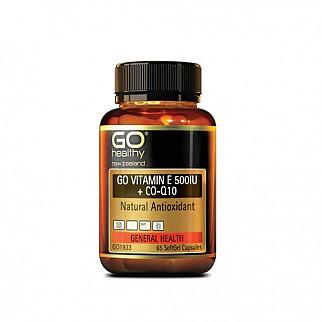 [고헬씨] 비타민E 500IU + 코엔자임 큐텐 130 소프트젤 캡슐 1개