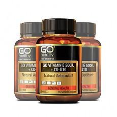 [고헬씨] 비타민E 500IU + 코엔자임 큐텐 130 소프트젤 캡슐 3개
