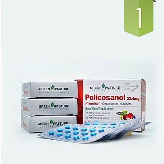 [그린파스쳐] 폴리코사놀(혈행도우미) 33.4mg 180정 1개