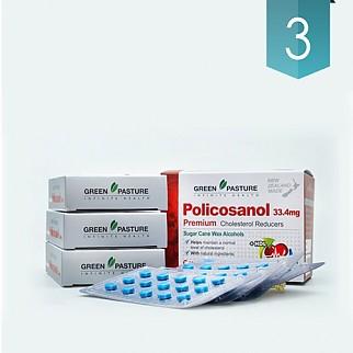 [그린파스쳐] 폴리코사놀(혈행도우미) 33.4mg 180정 3개