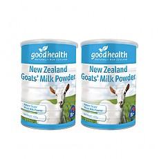 [굿헬스] 100% 산양유 단백질 분말 (소화잘되는 우유) 400g 2개