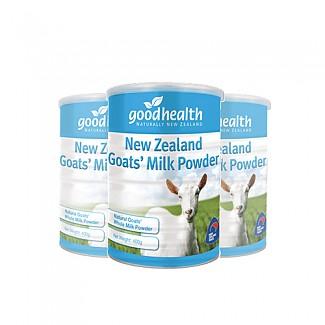 [굿헬스] 100% 산양유 단백질 분말 (소화잘되는 우유) 400g 3개