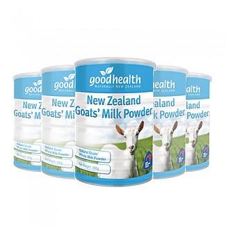 [굿헬스] 100% 산양유 단백질 분말 (소화잘되는 우유) 400g 6개