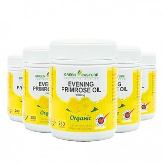 [그린파스쳐] 달맞이꽃종자유 EPO1000mg 280캡슐 6개