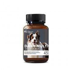 [펫 아일랜드] 데일리 멀티 비타민 (휴먼 그레이드/강아지 영양제) 45캡슐 1개