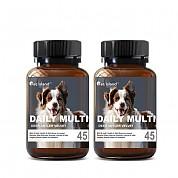 [펫 아일랜드] 데일리 멀티 비타민 (휴먼 그레이드/강아지 영양제) 45캡슐 2개