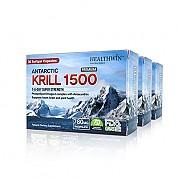 [헬스윈] 남극 크릴오일 1500 30 캡슐 3개 (함량업!! 인지질 52%)