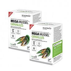 [헬스윈] 메가머슬 그래뉼 (초록입홍합 환100%) 75000mg 30포 2박스