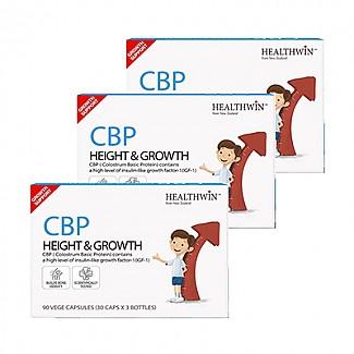 [헬스윈]CBP 1박스 30캡슐*3병 3set (초유, 초유단백질, CBP200mg) 9개월분