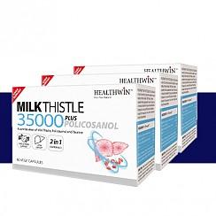 [헬스윈] 밀크씨슬 35000 Plus 폴리코사놀 60캡슐 3개